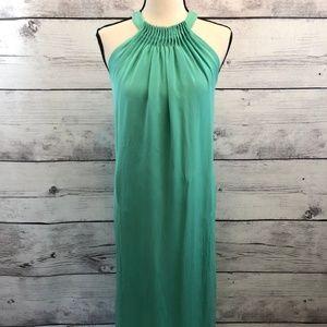 Kobi Halperin Sea Foam Silk Maxi Dress XS